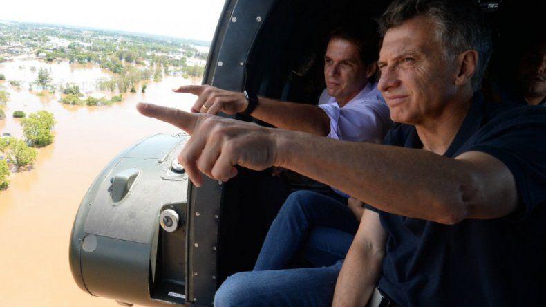 Mauricio Macri: tendremos que acostumbrarnos a las inundaciones