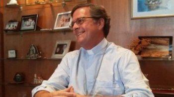 Jorge Ignacio García Cuerva ofició el jueves su primera misa en la catedral de Río Gallegos y ayer recibió al periodismo en la sede del obispado.