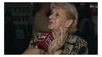 jubilada de 80 anos: comemos una vez por dia para pagar los servicios