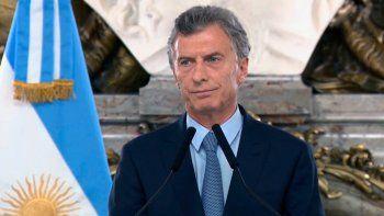 Macri emitirá un DNU para la extinción de dominio en causas de corrupción