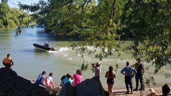 Encontraron el cuerpo del nene de 11 años ahogado en el río Chubut