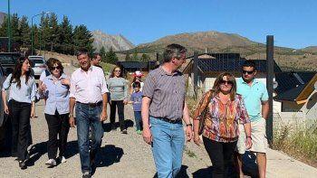 Menna recorrió Esquel y prevé más actividades en la comarca