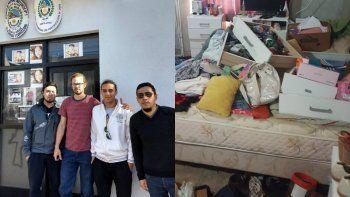 Les allanaron la casa y les secuestraron pertenencias por error