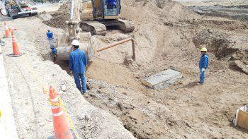 El suministro de agua en zona sur quedará normalizado a la noche