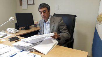 Juan Carlos Caperochipi, jefe de fiscales de Comodoro Rivadavia.