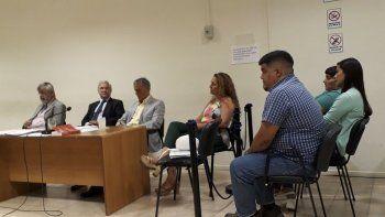 La jueza Arcuri aceptó la suspensión de juicio a prueba para cuatro de los imputados.
