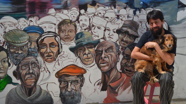 César Barrientos, un tipo común  que hace del arte algo extraordinario