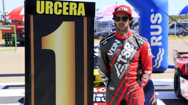 José Manuel Urcera estableció un nuevo récord del circuito.
