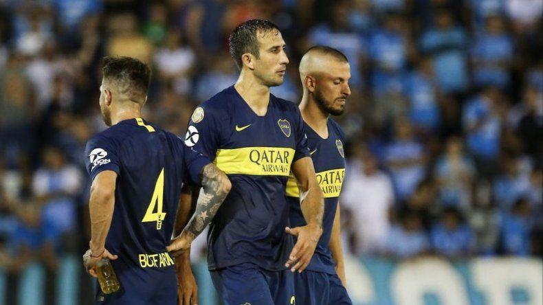 Boca no mantuvo el ritmo y Belgrano se lo empató 1 a 1 en el final