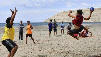 Exitoso fin de semana de beach handball