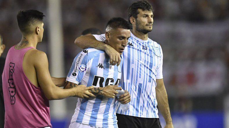 Ricardo Centurión se perdería el último tramo de la Superliga y el duelo por la Copa Sudamericana ante Corinthians.