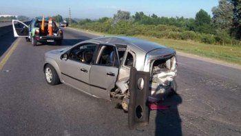 una directora de transito choco con su auto y dio positivo en el test de alcoholemia