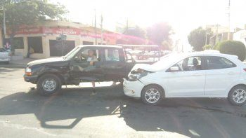 accidente con lesionados en calle alsina