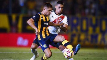 rosario central y river empataron