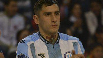 Matías Rima integra el equipo de Eskarcha FC de Pico Truncado y volverá a vestir la celeste y blanca.