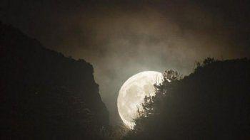hoy habra una superluna conocida como luna de nieve