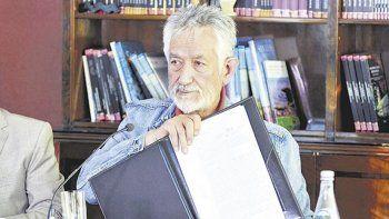 Alberto Rodríguez Saá, gobernador de San Luis, provincia que recuperará importantes fondos que le retenía Nación en forma ilegal.
