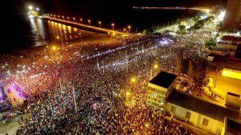 una multitud disfruto del show de damas gratis en puerto madryn