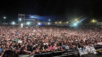 rock, cumbia, reggae y folclore marcan  la impronta del gran festival aniversario