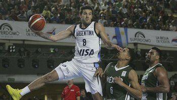 La selección argentina ya clasificó y afronta dos compromisos más frente a Puerto Rico y Estados Unidos.