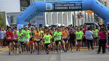 La 3ª edición de la Corrida Aniversario de Comodoro Rivadavia cuenta con el doble de inscriptos, respecto del año pasado.