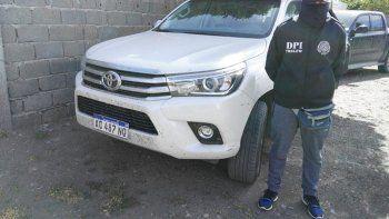 Hallaron la camioneta robada a Mario Cimadevilla