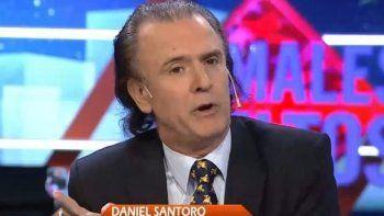 Daniel Santoro continúa justificando sus relaciones
