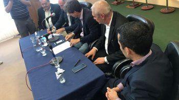 La SCPL y el ENHOSA firmaron un convenio por la repotenciación del acueducto