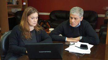 Paola Vessvessian y Pablo González mantuvieron el miércoles una reunión para coordinar nuevas acciones a favor de familias que se encuentran en situación de vulnerabilidad social.