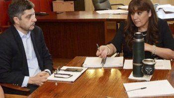La reunión de Cigudosa con el subsecretario de Infraestructura.