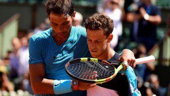 Diego Schwartzman y Rafael Nadal se enfrentaron seis veces y en todas ganó el español.