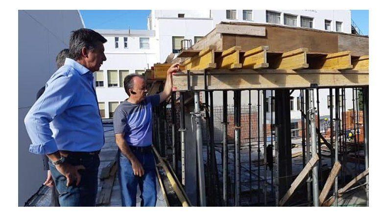 Funcionarios de Nación recorrieron la obra de ampliación del CABIN