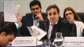 Ramos Padilla notificó a Carrió