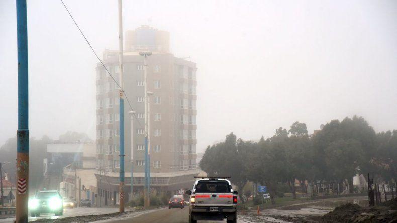 Cese del alerta por precipitaciones persistentes para Comodoro y alrededores