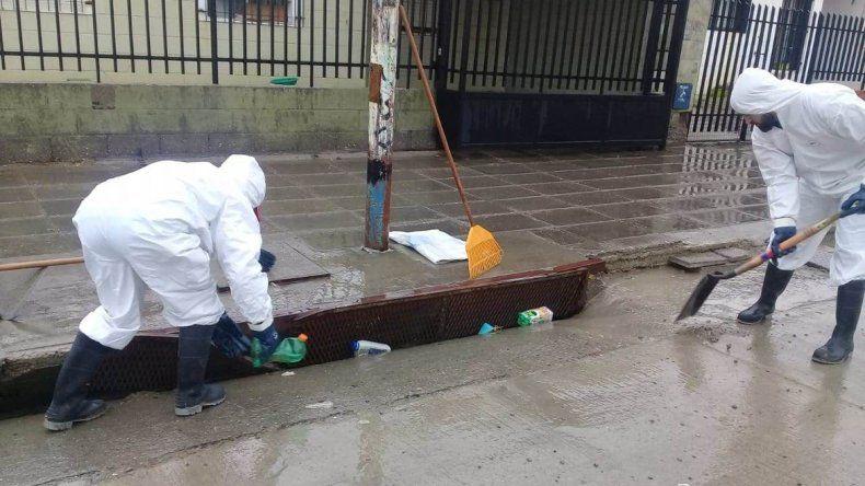 Las lluvias no generaron mayores complicaciones en Comodoro Rivadavia a partir de los trabajos preventivos que desarrolló el municipio.