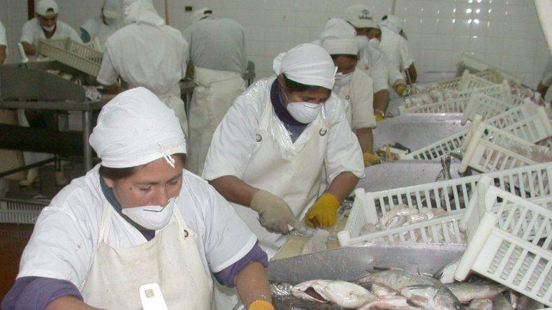 La pesca es uno de los motores de la industria chubutense.
