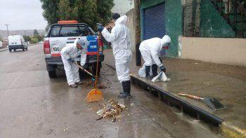 destacaron el trabajo preventivo en los pluviales