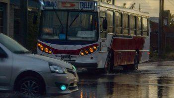 En Trelew fueron evacuadas 10 familias y suspendieron las clases