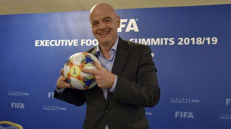 FIFA organizará un Mundial de Clubes de 24 equipos desde 2021