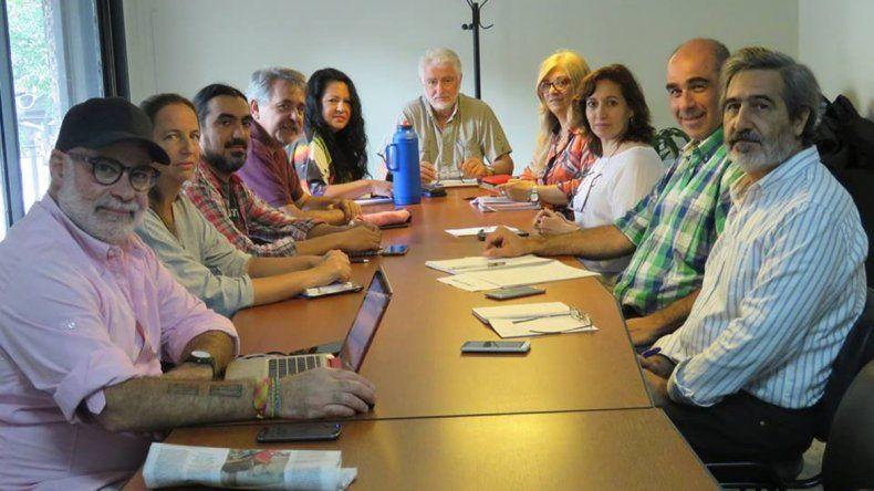 La CONADU Histórica se reunió el miércoles en Buenos Aires para evaluar las medidas de fuerza.
