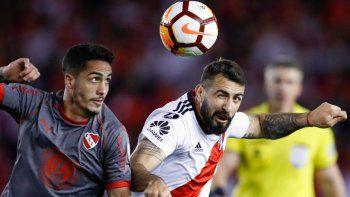 River llega mejor parado que Independiente y con mayores posibilidades de clasificar a la Copa Libertadores.