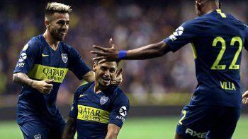 Boca viene de golear 3-0 a San Lorenzo.