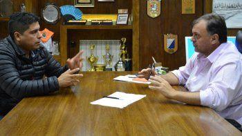 El dirigente petrolero Claudio Vidal informó al intendente Javier Belloni sobre la infraestructura turística que el gremio tiene proyectada en El Calafate.