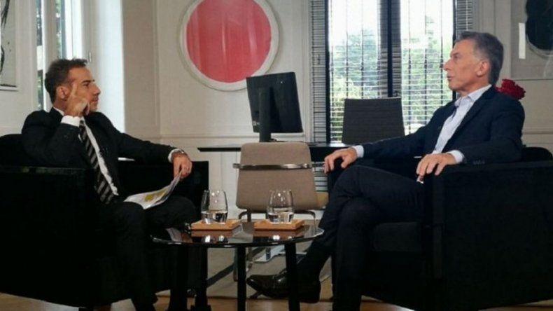 Macri dijo que su padre era parte de un sistema extorsivo