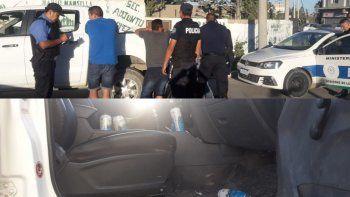 manejaba alcoholizado y le secuestraron su camioneta