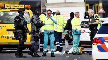 Tiroteo en Holanda: un muerto y varios heridos