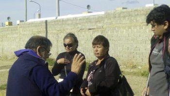 Olga Cañupan promovió la bendición del lugar donde asesinaron a su hijo hace cinco años.