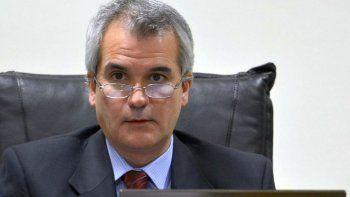 El juez de la causa, Alejandro Rosales.