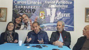 En su condición de precandidato a gobernador, Linares recorre el interior alentando a quienes producen a que no bajen los brazos.