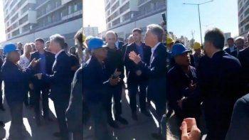 El obrero que increpó a Macri contó que lo visitaron funcionarios